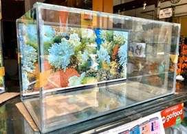 Paket aquarium background baru 60x30x30