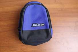 GBA SP Mini Backpack Blue Game Bag Carrying Case - GameBoy Advance