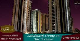 Luxury 3 BHK, HMDA approved with awesome amenitiees in ManiKonda , HYD