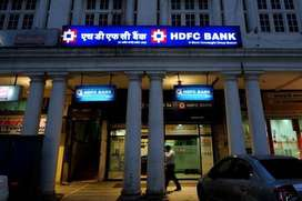 We are looking candidate for HDFC Bank freshers also come. SHARE CONTA