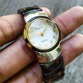 Jam Tangan Vintage Plaisir Quartz Japan Fashion