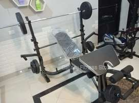 Bench press set beban 40kg bisa bayar ditempat