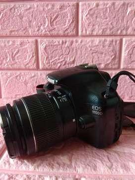 Canon 1100d siap pakai