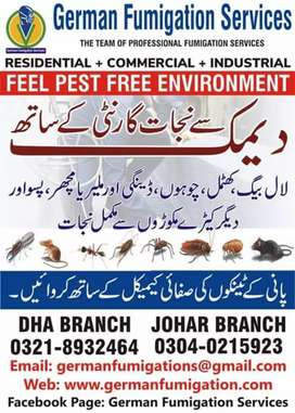 Fumigation/ Pest  control / Termite proofing complete solution 1 call