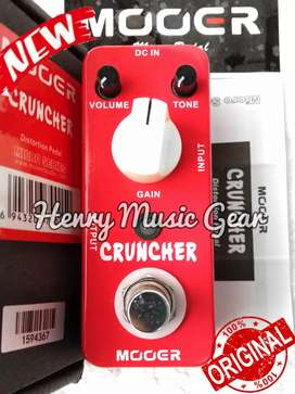 Mooer Cruncher Distortion BARU