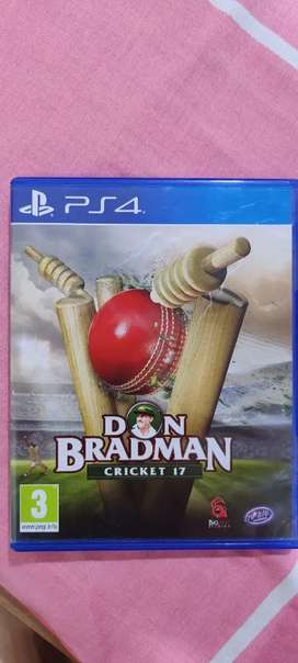 Dom bradman cricket 17 PS4