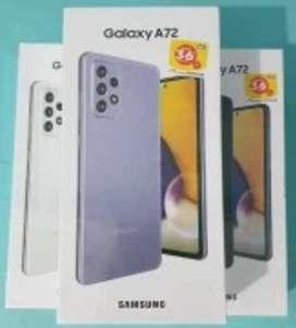 MAnTap BiSa TT/CC SPliT/KReDIt Samsung A72 8GB/128GB New SEIN Resmi
