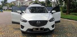 Mazda CX5  GT 2016 putih full ori luar dlm ban baru semua B genap tgrg