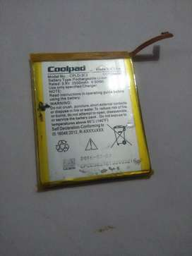 Coolpad note 3 battery (second hand)