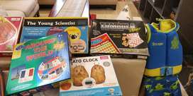 Lots of board games and toys for children