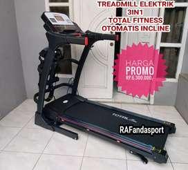 TL-630 Treadmill Elektrik Multifungsi Auto Incline
