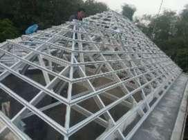 Jasa pemasangan rangka atap baja ringan