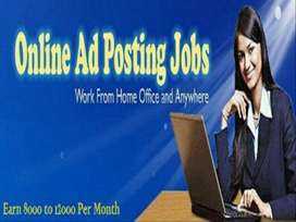 Data entry and data formatting work home based job, part time jobs.