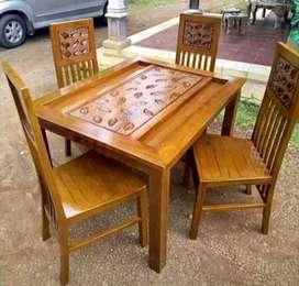 kursi makan meja model sekarang