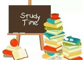 Tuition classes  English medium