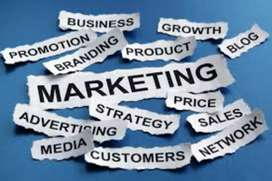 Sales and marketing person required urgently