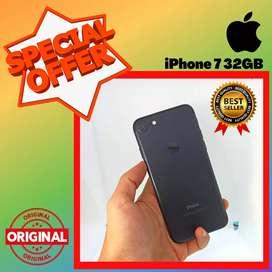 BISA TUKAR - TAMBAH !! SECOND IPHONE 7 32 GB - EKS INTER