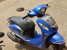 Yamaha fascino blue colour