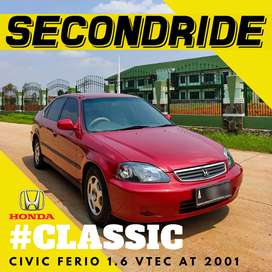 HONDA CIVIC FERIO SO4 1.6 VTEC AT 2001, ORIGINAL INTERIOR!