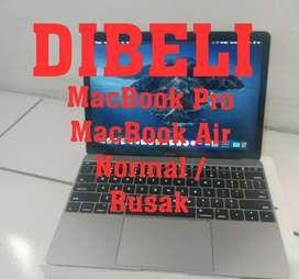Dicari Laptop / MacBook Normal Rusak Matot