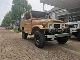 Toyota Hardtop FJ 40 tahun 1981 Full Restorasi