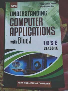Understanding computer application with Bluej ICSE BOOK