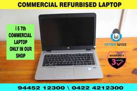 i5 7th TOP RANKED LAPTOP COMMERCIAL REFURBISHED LAPTOP