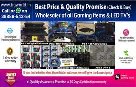 Sale on  LED TVs|Gaming Consoles (PS4|PS3|PS2|XBOX|Switch|Vr & Led Tvs