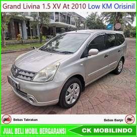 (Dp23jt) Grand Livina XV At 2010 Low KM Orisinil Kredit Murah