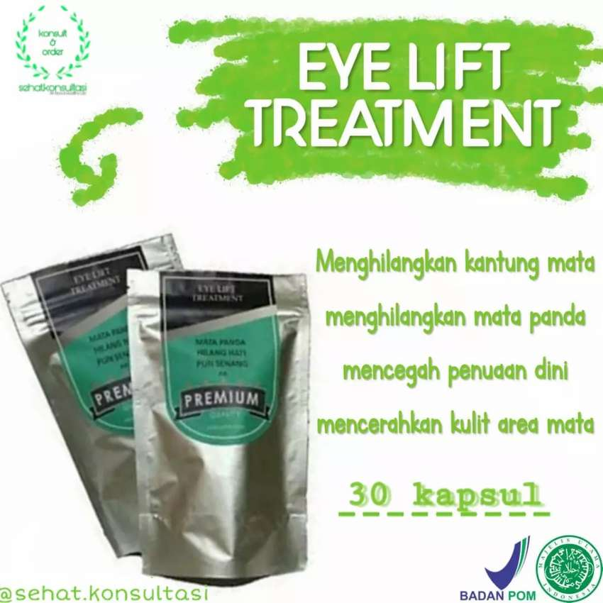 EYE LIFT TREATMENT Penghilang Kantung Mata Panda isi 30 softgels 0