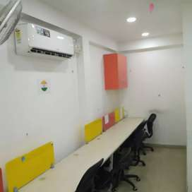 1 cabin 12 seat for rent sector 4 noida