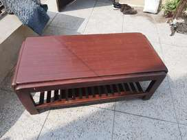 Wooden table approx 2.5foot height 6.25foot length