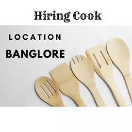 Hiring a full time cook for cloud kitchen