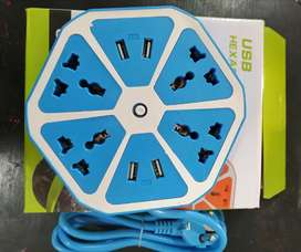 4 USB hexagon socket