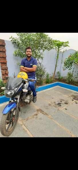 Bike rider job