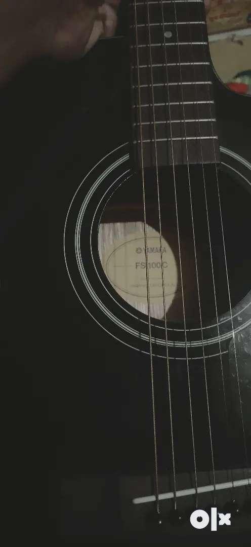 Yamaha FS100C Acoustic Guitar 0