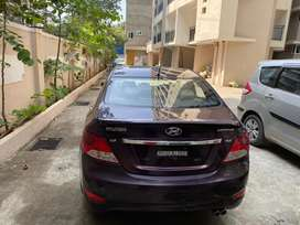 Hyundai verna 2014 push button automatic petrol good condition cheap