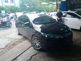 Honda city pakai velg hsr nifty r18x8 bisa kredit dan tukar tambah
