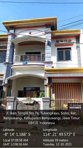 Rumah Mewah Dijual Cepat di Pusat Banyuwangi (bsa nego lngsng pemilik)