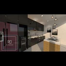 Jasa design interior dan kitchen set