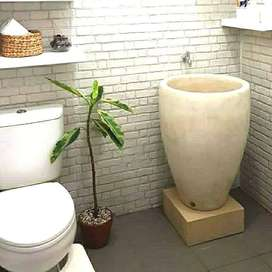 Bak mandi dungdung terrazzo free ongkir
