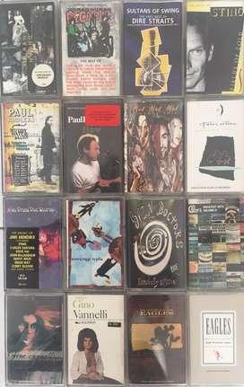 Jual Cassette (Kaset Pita) ROCK kondisi OK