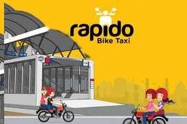 Looking Delivery executive Rapido