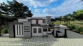 Freelance interior and exterior designing
