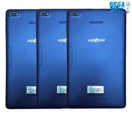 Advan vandroid i10 Tablet - Blue [16GB/ 2GB/ 4G LTE] Baru New 100%