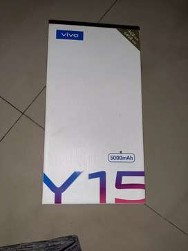 Vivo y 15 with full kit 4/64