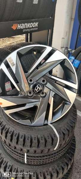 Alloy wheels for i20