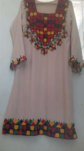 sindhi Embroidered Shirt For girls