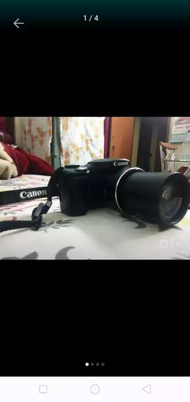Canon powershot ESLR camera
