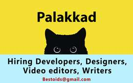 Writer, PHP Laravel & Javascript developers, designers & video editor
